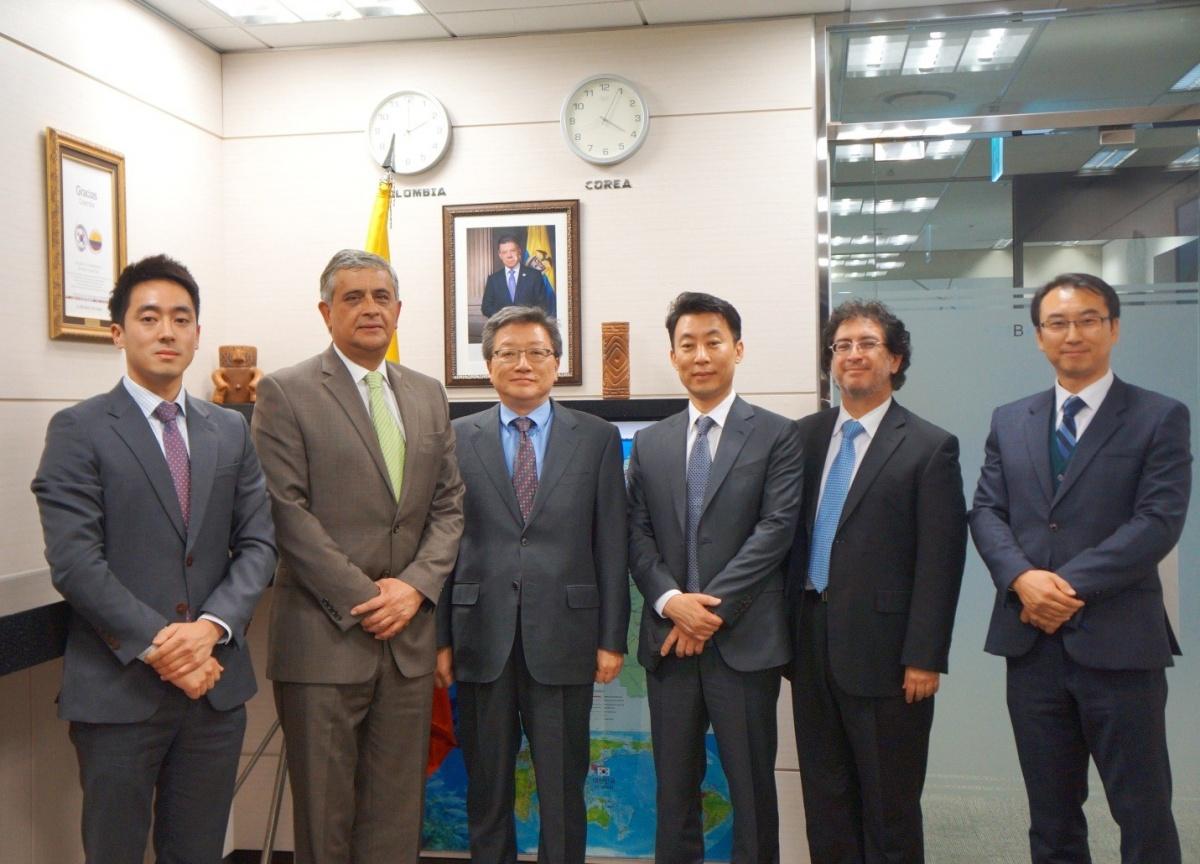 Embajada de Colombia en Corea